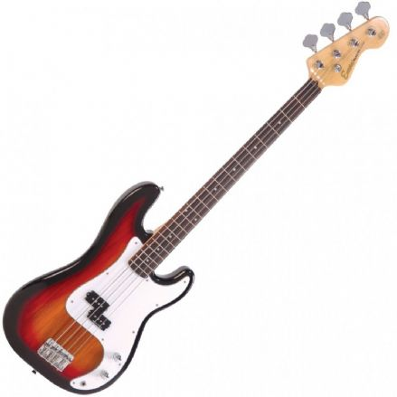 Encore E4 Blaster Bass Guitar Sunburst